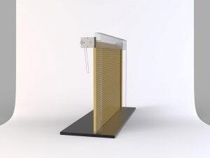 Porta de Enrolar Mega Gold Perfil