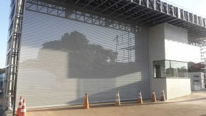 Porta para Comércio Santos