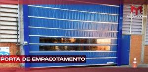Porta de enrolar pvc em São Paulo