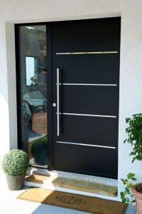 porta de fachada