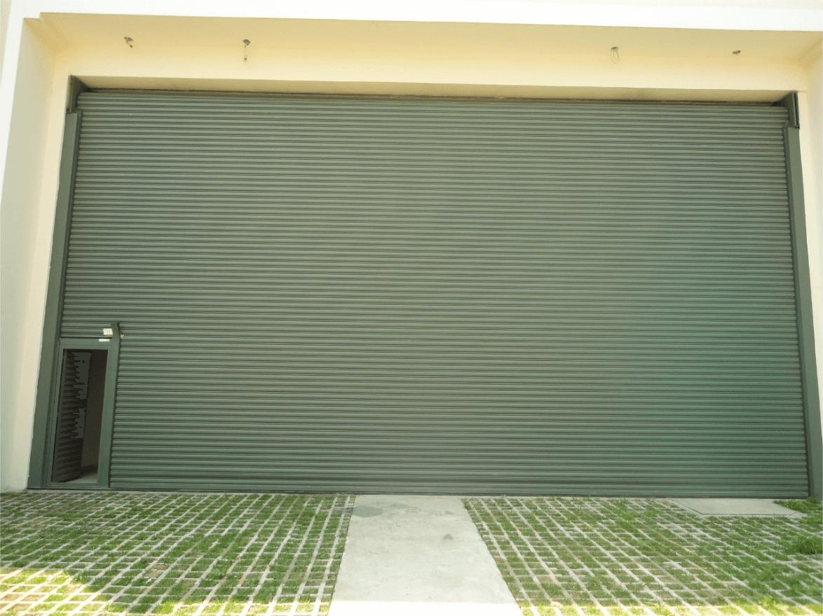 porta de ferro para loja