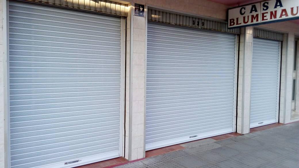 portas comerciais de enrolar em SP
