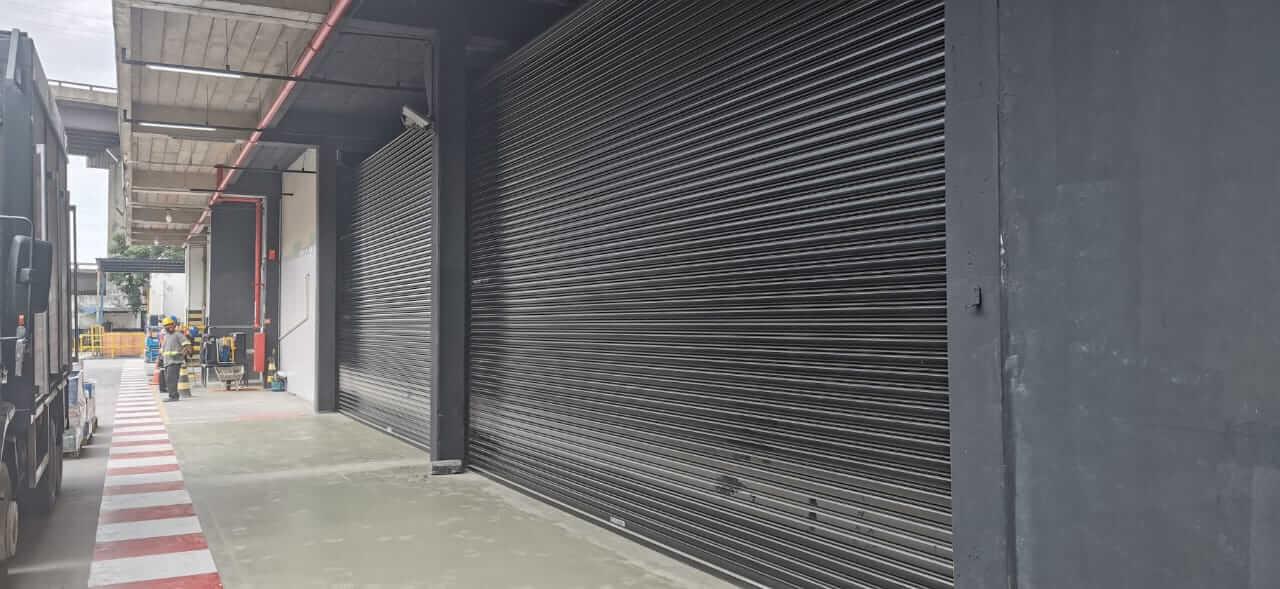 porta de rolo