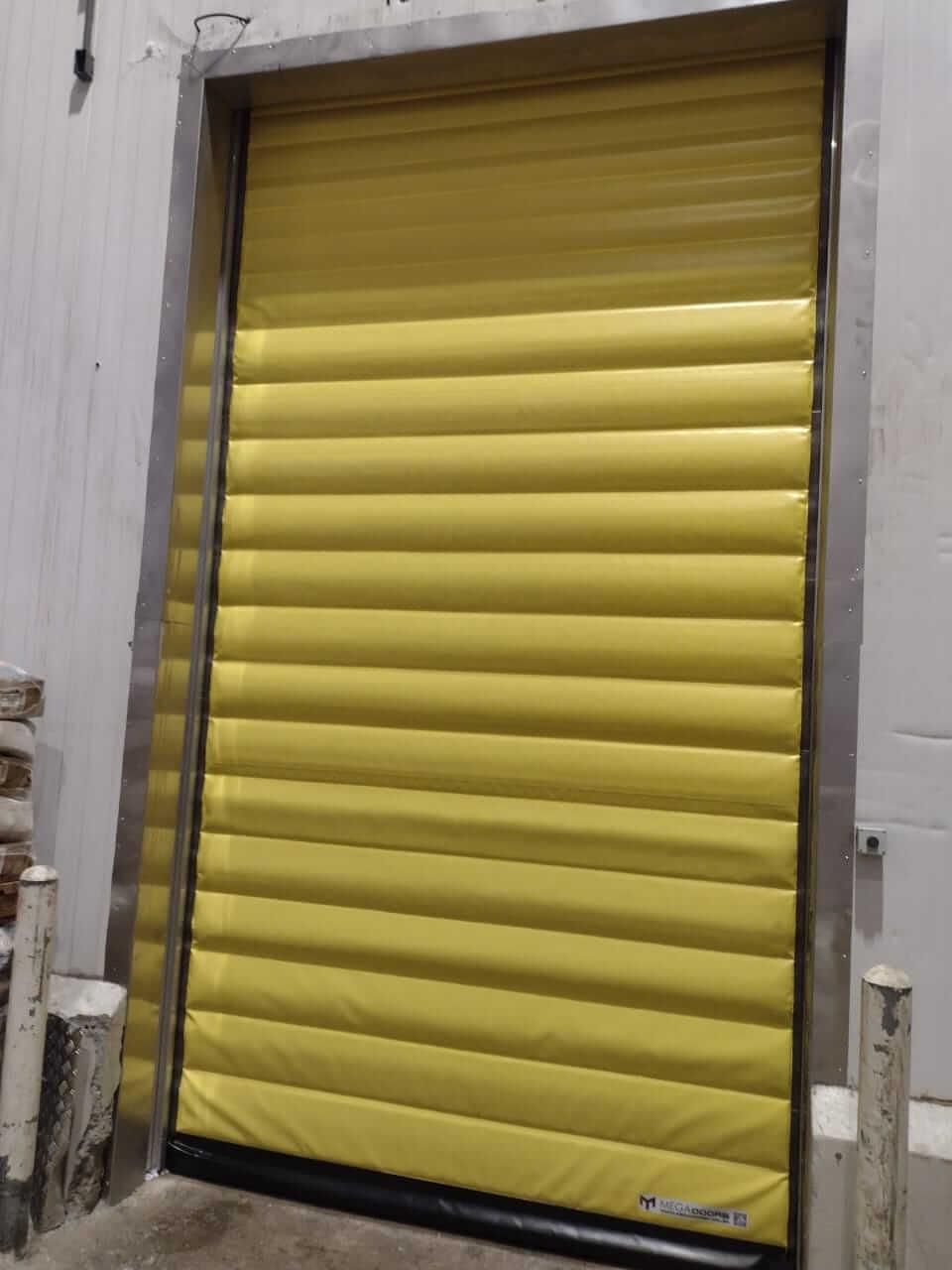 portas para áreas congeladas