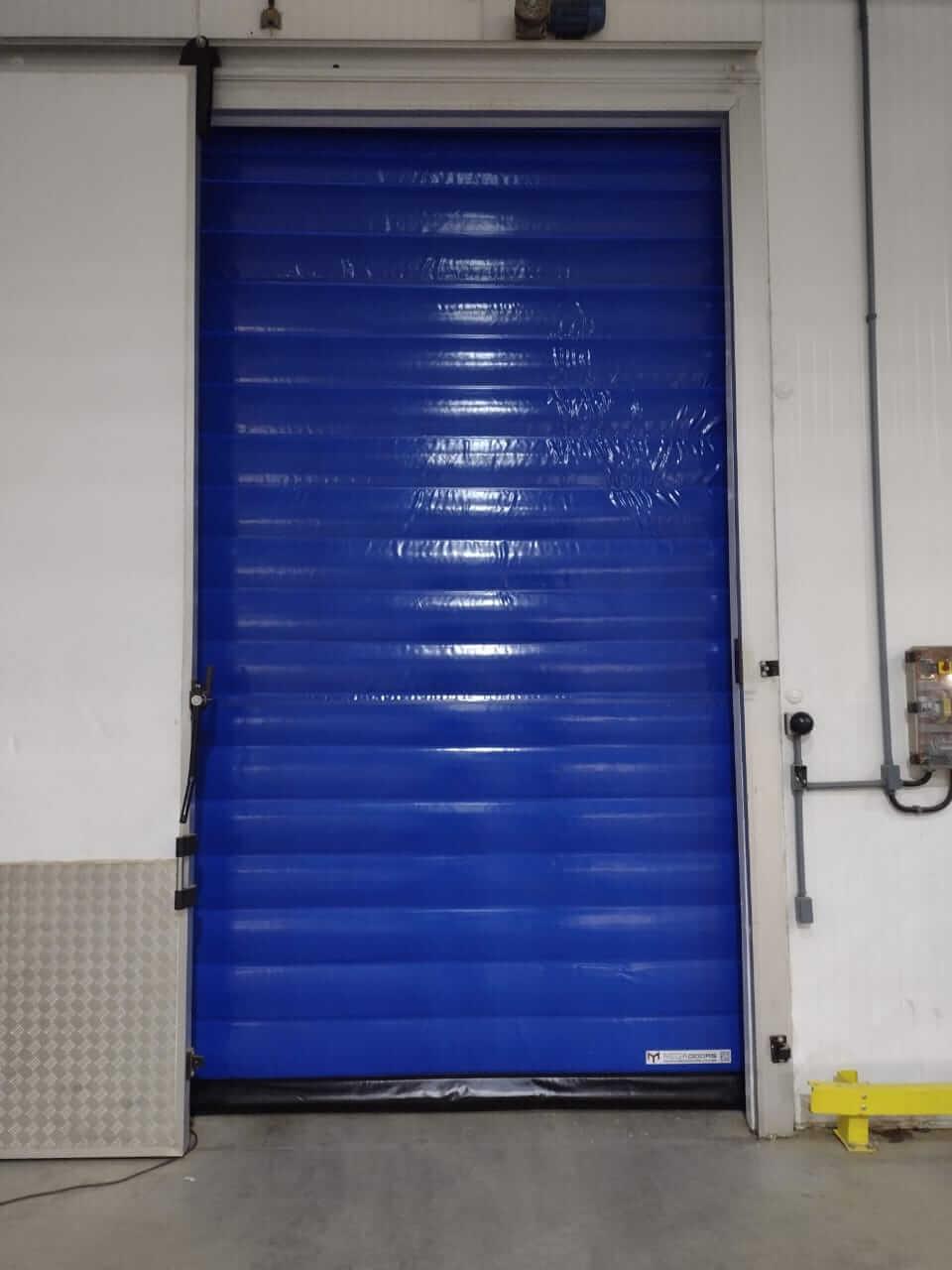 portas para áreas limpas e controladas
